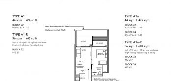 leedon-green-condo-floor-plan-1-bedroom-a1-singapore