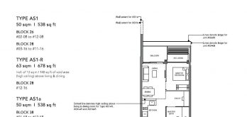 leedon-green-condo-floor-plan-1-bedroom-plus-study-as1-singapore