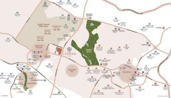 leedon-green-condo-location-map-singapore