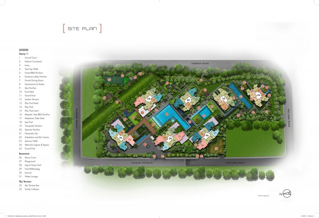 leedon-green-condo-site-plan-singapore